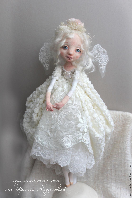 Коллекционные куклы ручной работы. Ярмарка Мастеров - ручная работа. Купить Ангел. Handmade. Ангел, подарок 2017