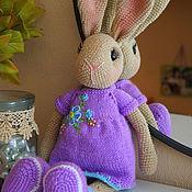 Куклы и игрушки ручной работы. Ярмарка Мастеров - ручная работа Заяц Вязаный. Handmade.