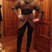 Одежда ручной работы. Ярмарка Мастеров - ручная работа Теплый кардиган, пальто. Handmade.