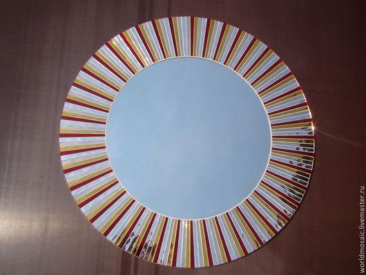Зеркала ручной работы. Ярмарка Мастеров - ручная работа. Купить Солнышко. Handmade. Зеркало настенное, зеркало ручной работы