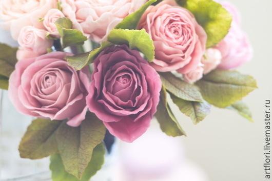 Букеты ручной работы. Ярмарка Мастеров - ручная работа. Купить Букет невесты в винтажном стиле.. Handmade. Букет, цветы из глины