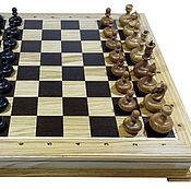 Активный отдых и развлечения handmade. Livemaster - original item Chess: Chess Classic, 45x45 cm, oak, handmade. Handmade.