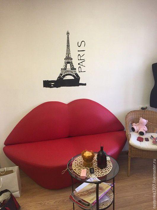 Мебель ручной работы. Ярмарка Мастеров - ручная работа. Купить диван губы. Handmade. Ярко-красный, креативная мебель