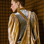 """Одежда ручной работы. Ярмарка Мастеров - ручная работа Бархатное платье """"Скаут"""". Handmade."""
