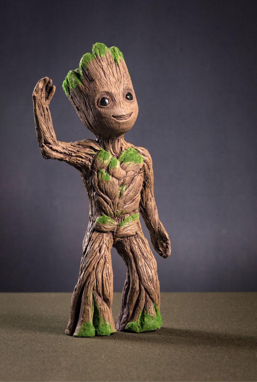 Малыш Грут (Little Groot), Статуэтки, Тольятти,  Фото №1