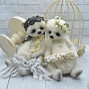"""Куклы и игрушки ручной работы. Ярмарка Мастеров - ручная работа """"Летим со мною...."""" Купидоны тедди.. Handmade."""