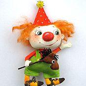 Куклы и игрушки handmade. Livemaster - original item Clown. Handmade.