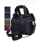 Сумки и аксессуары handmade. Livemaster - original item Bag for lunch on a long strap, size S, 5 colors. Handmade.