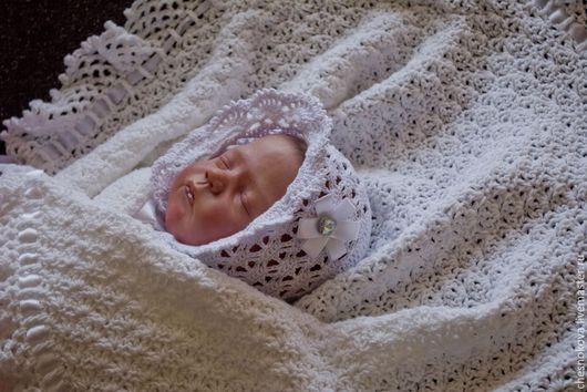 плед ,плед вязанный,плед-одеяло,вязанный плед на выписку,плед в подарок,плед вязанный купить,одеяло в коляску,