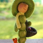 Куклы и игрушки ручной работы. Ярмарка Мастеров - ручная работа Стручок. Handmade.