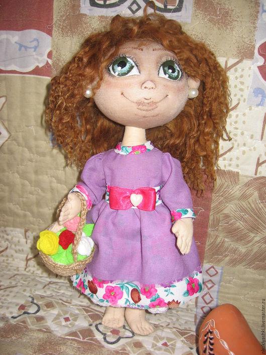 Коллекционные куклы ручной работы. Ярмарка Мастеров - ручная работа. Купить Авторская кукла Инга. Handmade. Авторская кукла