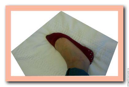 Винтажная обувь. балетки новые 39 размер. Чердак старого дома (vintage25). Ярмарка Мастеров. Винтажные балетки