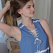 """Одежда ручной работы. Ярмарка Мастеров - ручная работа Платье """"Кокетка"""". Handmade."""