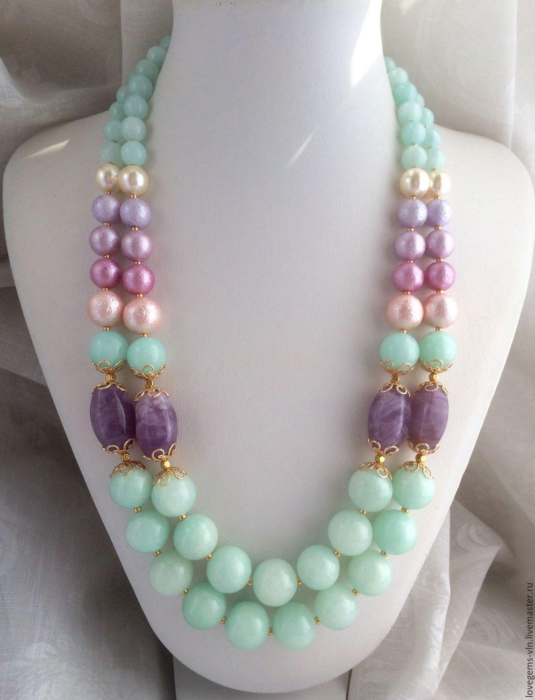 благодаря фото ожерелий из натуральных камней ароматы знаменитого бренда