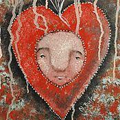 Картины и панно ручной работы. Ярмарка Мастеров - ручная работа О любви (репродукция). Handmade.