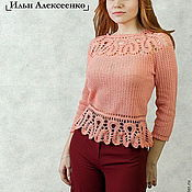 Одежда handmade. Livemaster - original item Author lace blouson. Handmade.