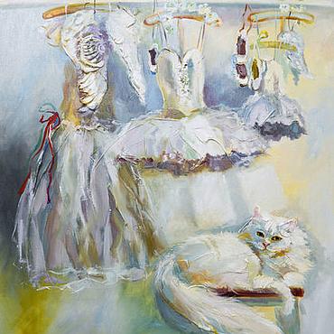 Картины и панно ручной работы. Ярмарка Мастеров - ручная работа Avant le balle - картина на холсте. Handmade.