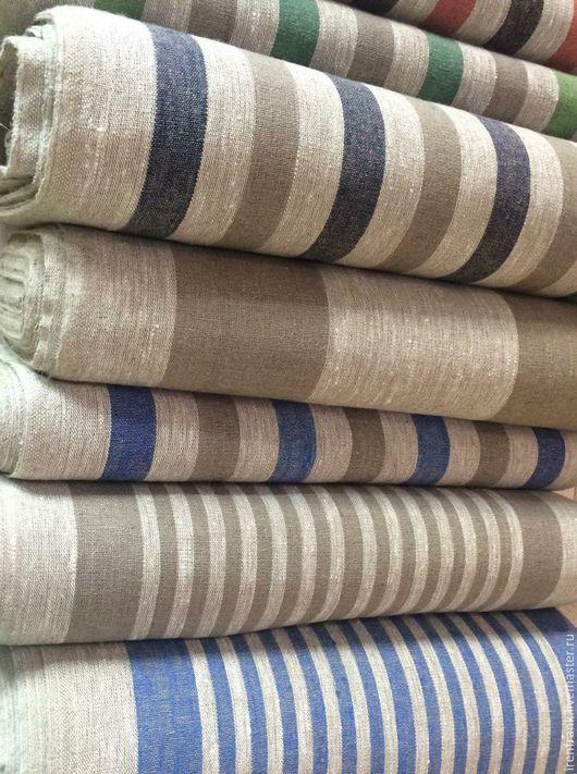 Текстиль, ковры ручной работы. Ярмарка Мастеров - ручная работа. Купить Лен декоративный. Handmade. Лен, лен 100%