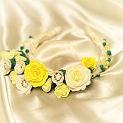 Свадебный салон ручной работы. Ярмарка Мастеров - ручная работа Весенние цветы. Handmade.