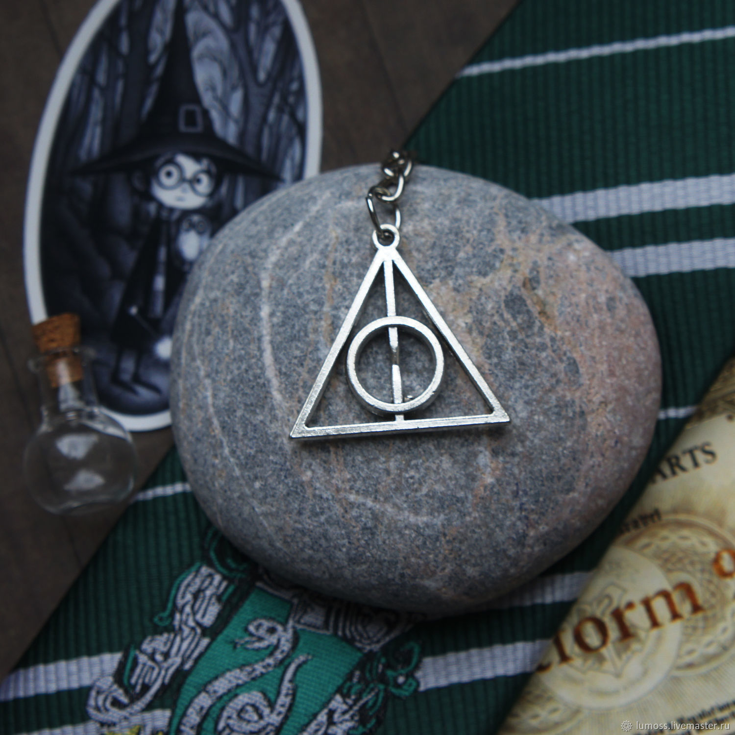 Deathly Hallows keychain', Key chain, Moscow,  Фото №1