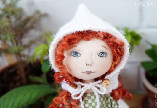 Кукла текстильная `В ожидании зимы`
