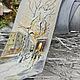 Галстуки, бабочки ручной работы. Ярмарка Мастеров - ручная работа. Купить Галстук батик Зимний город. Handmade. Батик, город