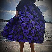 Одежда ручной работы. Ярмарка Мастеров - ручная работа Пышная юбка из шикарного жаккарда. Handmade.