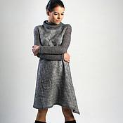 """Одежда ручной работы. Ярмарка Мастеров - ручная работа авторское платье """"Gray """". Handmade."""