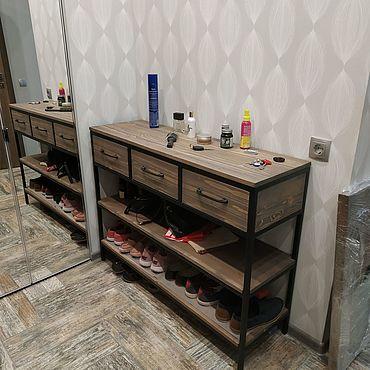 Мебель ручной работы. Ярмарка Мастеров - ручная работа Тумба-обувница. Handmade.