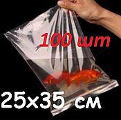 25х35 см Зип пакеты 35 мкм  ( 100 шт. в упаковке)