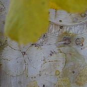 """Одежда ручной работы. Ярмарка Мастеров - ручная работа Хлопковая футболка  """" Autumn sketches"""", в Эко стиле.. Handmade."""
