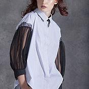 Одежда ручной работы. Ярмарка Мастеров - ручная работа Блузка VOLARE VIA Скидка 15% при покупке в комплекте с любой моделью. Handmade.