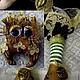 Сказочные персонажи ручной работы. Текстильная  кукла  Повелительница мудрых  сов.. БРЕЛЕНА (BRELENA). Ярмарка Мастеров. Интерьерная кукла
