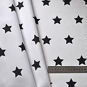 Материалы для творчества handmade. Livemaster - original item Fabric with stars, stars on fabric. Handmade.