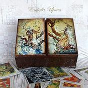 Для дома и интерьера ручной работы. Ярмарка Мастеров - ручная работа Шкатулка для карт Таро. Handmade.