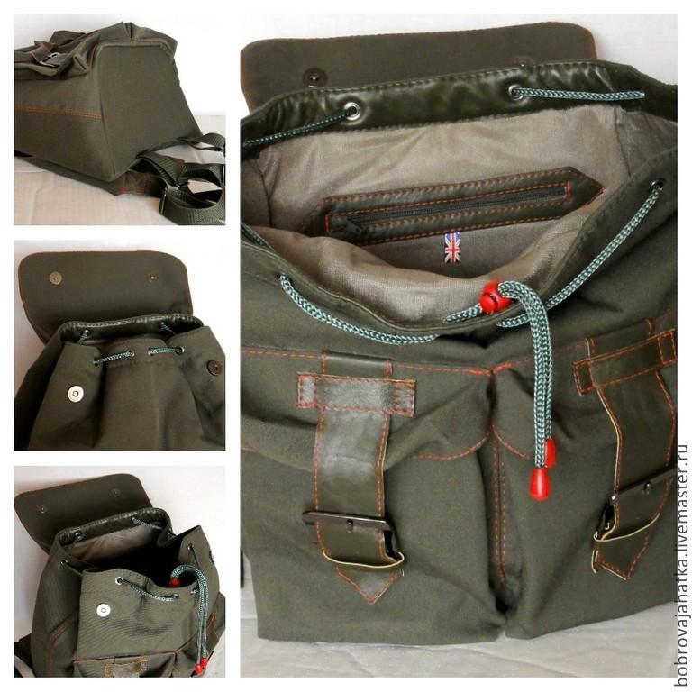 77e7012a502c Мужская сумка рюкзак для студента или подростка Красный автобус Лондон.  Personalized ...