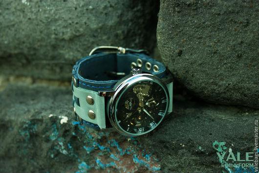 Часы наручные Waves. Часы наручные женские. Наручные часы. Часы наручные купить. Мятный, Синий.