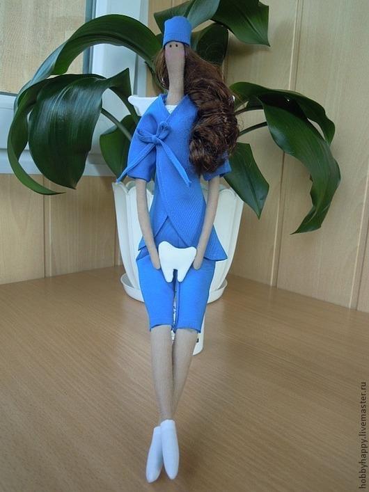 Куклы Тильды ручной работы. Ярмарка Мастеров - ручная работа. Купить Врач-стоматолог ( Ангел тильда ). Handmade.