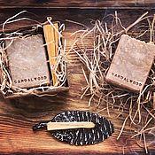Мыло ручной работы. Ярмарка Мастеров - ручная работа Sandalwood. Натуральное мыло с пудрой сандалового дерева. Handmade.
