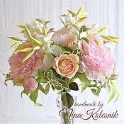 Свадебный салон ручной работы. Ярмарка Мастеров - ручная работа Свадебный букет невесты в стиле шебби-шик из фоамирана. Handmade.