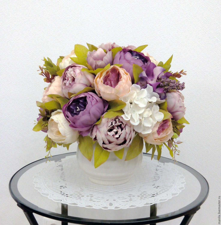 фото букетов из садовых цветов