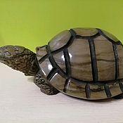Для дома и интерьера handmade. Livemaster - original item Turtle sculpture made of stone. Handmade.