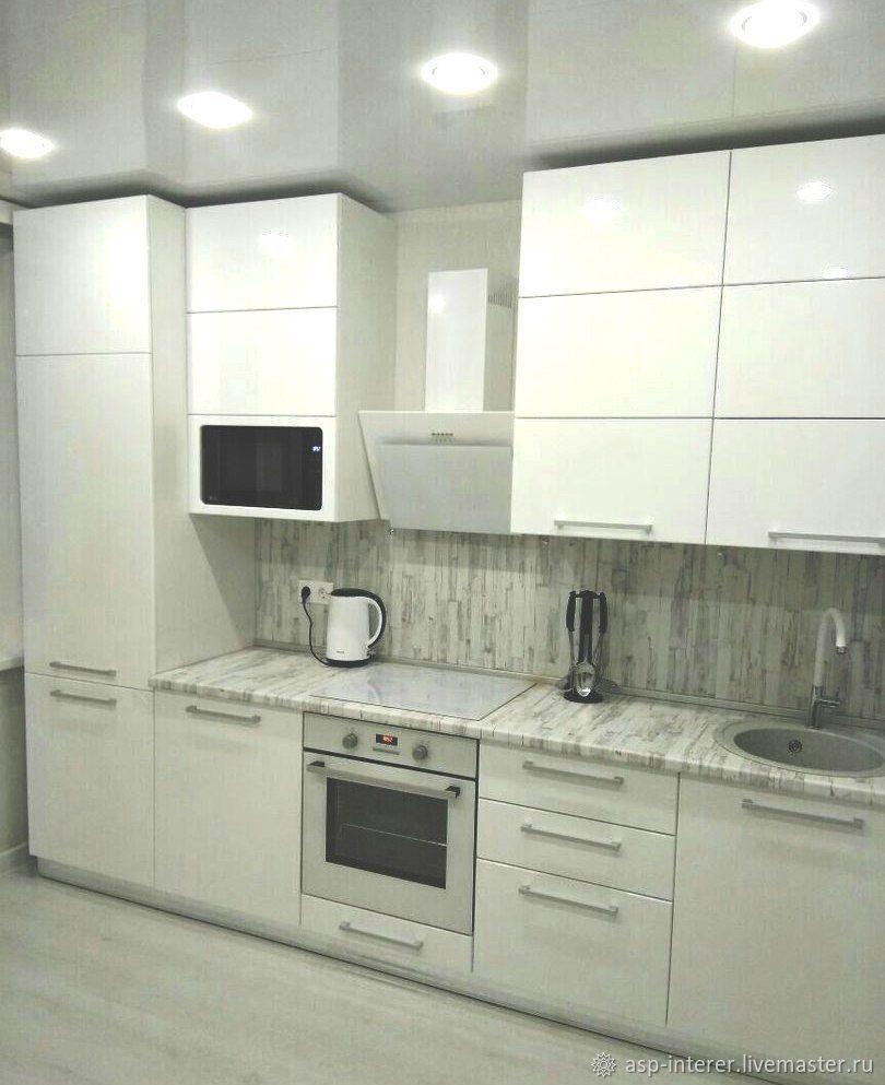 Кухня белый глянец, Кухни, Москва, Фото №1