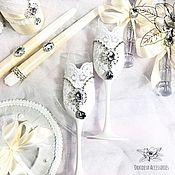 Свадебный салон handmade. Livemaster - original item Wedding glasses. Handmade.