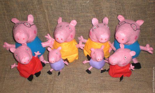 Две свинские семейки!