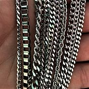 Подарки к праздникам handmade. Livemaster - original item Chains of steel in assortment. Handmade.