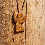 """Подвеска ручной работы. Ярмарка Мастеров - ручная работа Кулон """"Ангел-хранитель"""". Handmade."""
