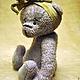 Мишки Тедди ручной работы. Заказать Лаванда (Лави). Пур-Пур (pur-pur). Ярмарка Мастеров. Мишка, teddy bear