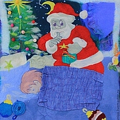 """Для дома и интерьера ручной работы. Ярмарка Мастеров - ручная работа Одеяло  """" Накануне"""". Для самых маленьких.. Handmade."""