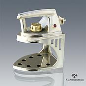 Украшения handmade. Livemaster - original item The IRON ring (silver, gold, ruby). Handmade.